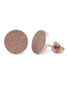 Rose Gold Diamond Dust Studs