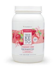 Slender FX™ True Keto Strawberry Créme Shake